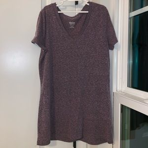 Target purple basic T-shirt